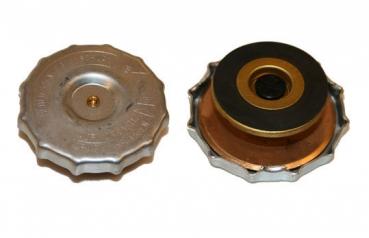 48 mm Kühlerdeckel Messing Deutz F1M414