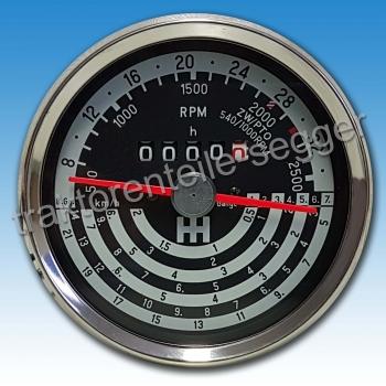 Traktormeter für  IHC 322 326 432 439 D514  Schlepper Traktor 262