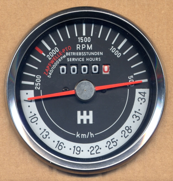 Tacho Drehzahlmesser Kombiinstrument für Deutz 05 06 Traktormeter