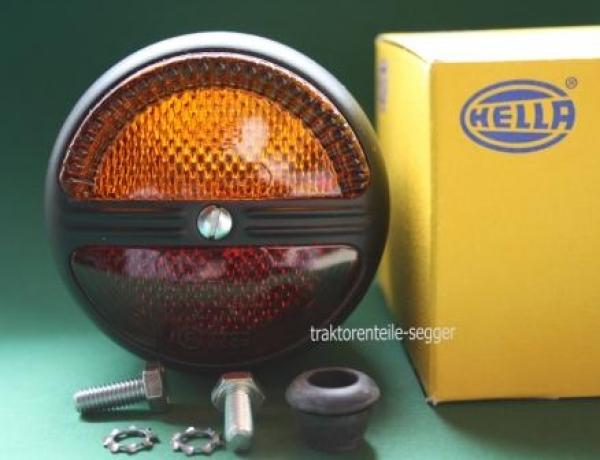 u 2er Satz Hella Blink Rückleuchte 1x Kennzeichenbeleuchtung Deutz Traktor